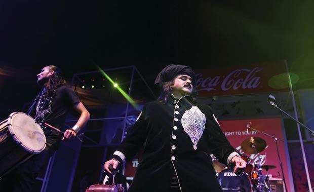जानेमाने सूफी गायक आरिफ लोहार . फोटो:अरुण सहरावत