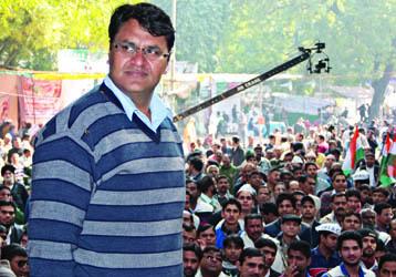 आम आदमी पार्टी से बाहर निकाले गए विधायक विनोद कुमार बिन्नी
