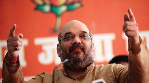 भाजपा नेता अमित शाह पर आचार संहिता के उल्लंघन के मामले में एफाआईआर दर्ज हुई है.