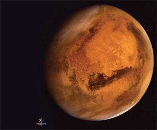 मंगल की ओर