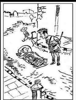 सलमान की  'हिट एंड रन' केस पर लक्ष्मण का कार्टून