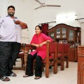 Pappu Yadav with wife by Shailendra 2
