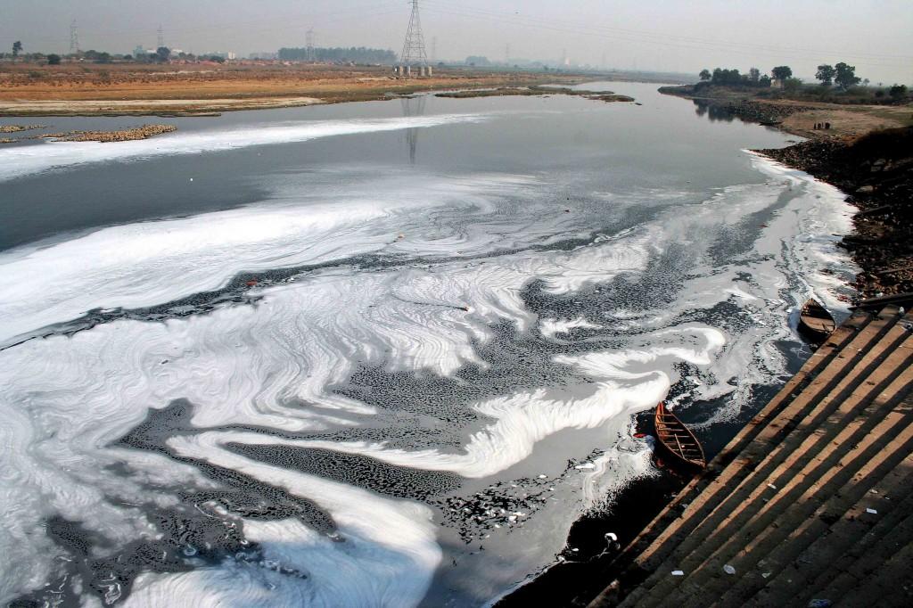 Yamuna River by Shailendra