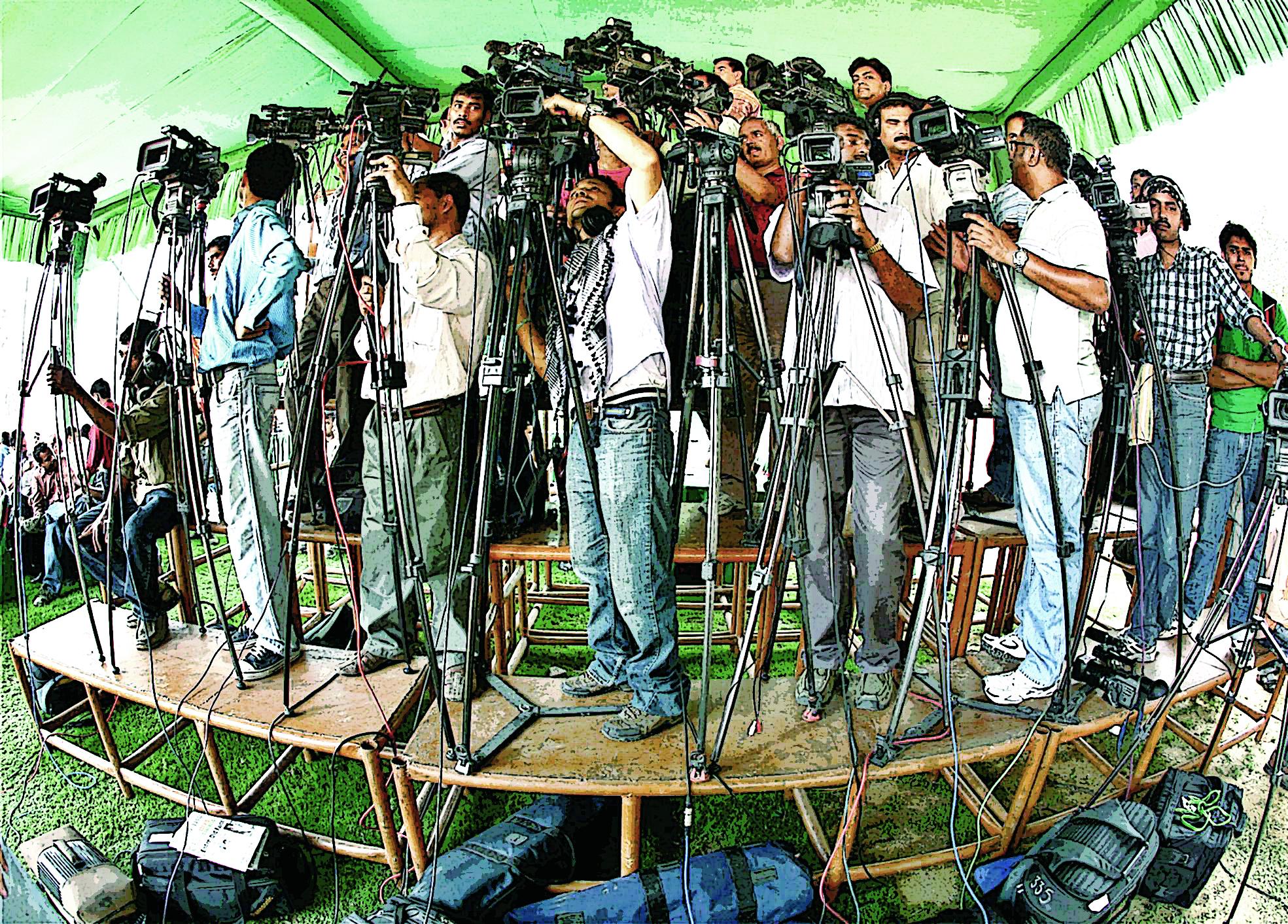 टिटिहरी पत्रकार, बरसाती चैनल