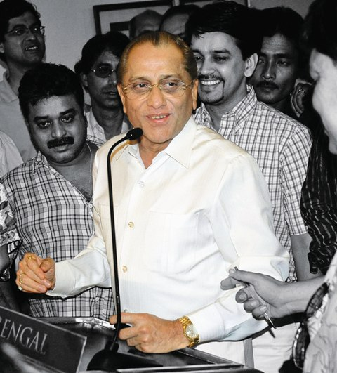 former International Cricket Council chief Jagmohan Dalmiya,  Photo by Tehelka