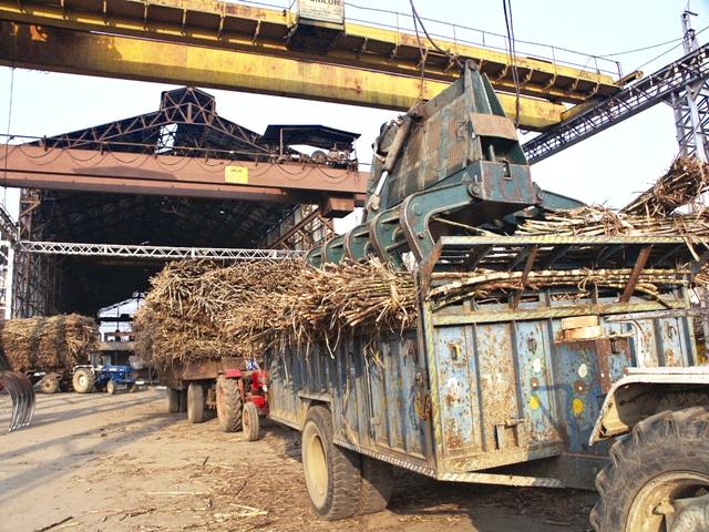 Sugar Mill Near Moradabad at, Uttar Pradesh. Photo by Shailendra Pandey