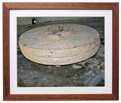आश्रम में आज भी रखी अनाज पीसने की इस चक्की का इस्तेमाल कस्तूरबा गांधी करती थीं