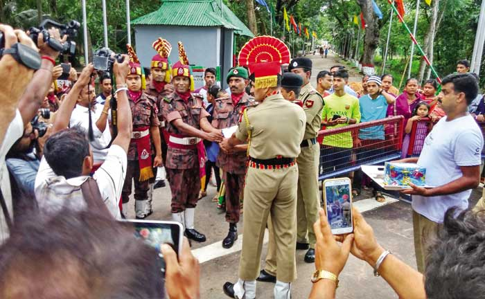 भारत-बांग्लादेश सीमा, अगरतला