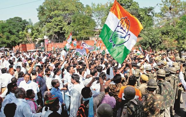 jaipur vidhan sabha & jyoti nager t point pe kala kanoon ko lekar protest (38)