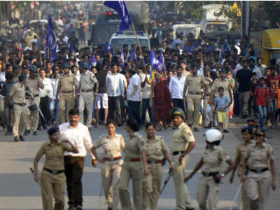 maharashra protest